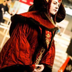 Cosplay Queen Amidala (red)